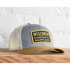 Snapback Hat - Wisconsin Dairyland