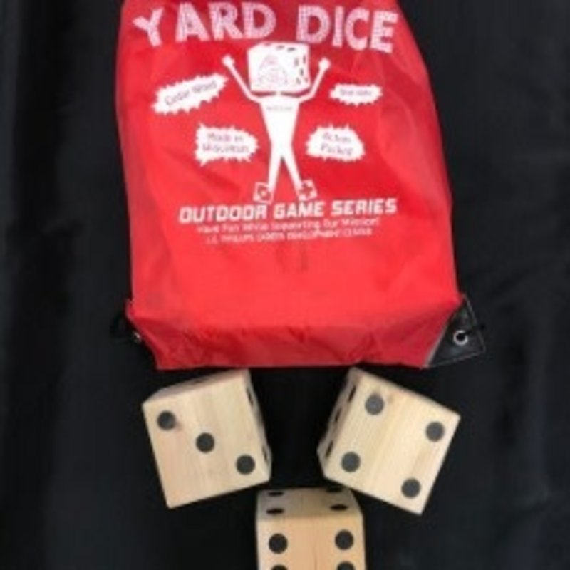 L.E Phillips Career Development Center Wood Yard Dice Game