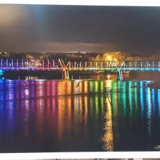 Lloyd Fleig Phoenix Park Bridge at Night