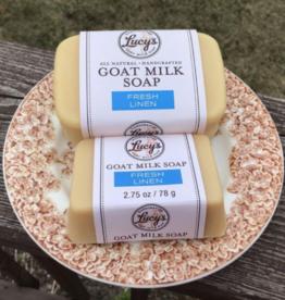 Lucy's Goat Milk Soap Lucy's Goat Milk Soap - Fresh Linen Handbar