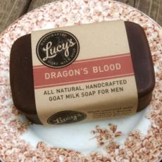 Lucy's Goat Milk Soap Lucy's Goat Milk Soap - Dragon's Blood Bath bar