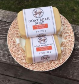 Lucy's Goat Milk Soap Lucy's Goat Milk Soap - Orange Spice Bath Bar