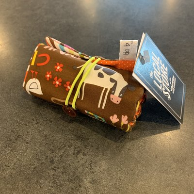 Kiki b Omi Designs Crayon Roll - Farm
