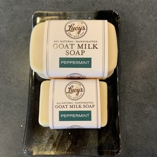 Lucy's Goat Milk Soap Lucy's Goat Milk Soap - Peppermint Bath Bar