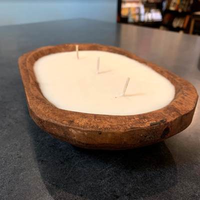 Dough Bowl Candle - Scent #1: Colonial Cupboard - 16oz.
