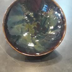 Dancing Cat Arts (Pottery) Medium Bowl (Pottery) - Northern Lights
