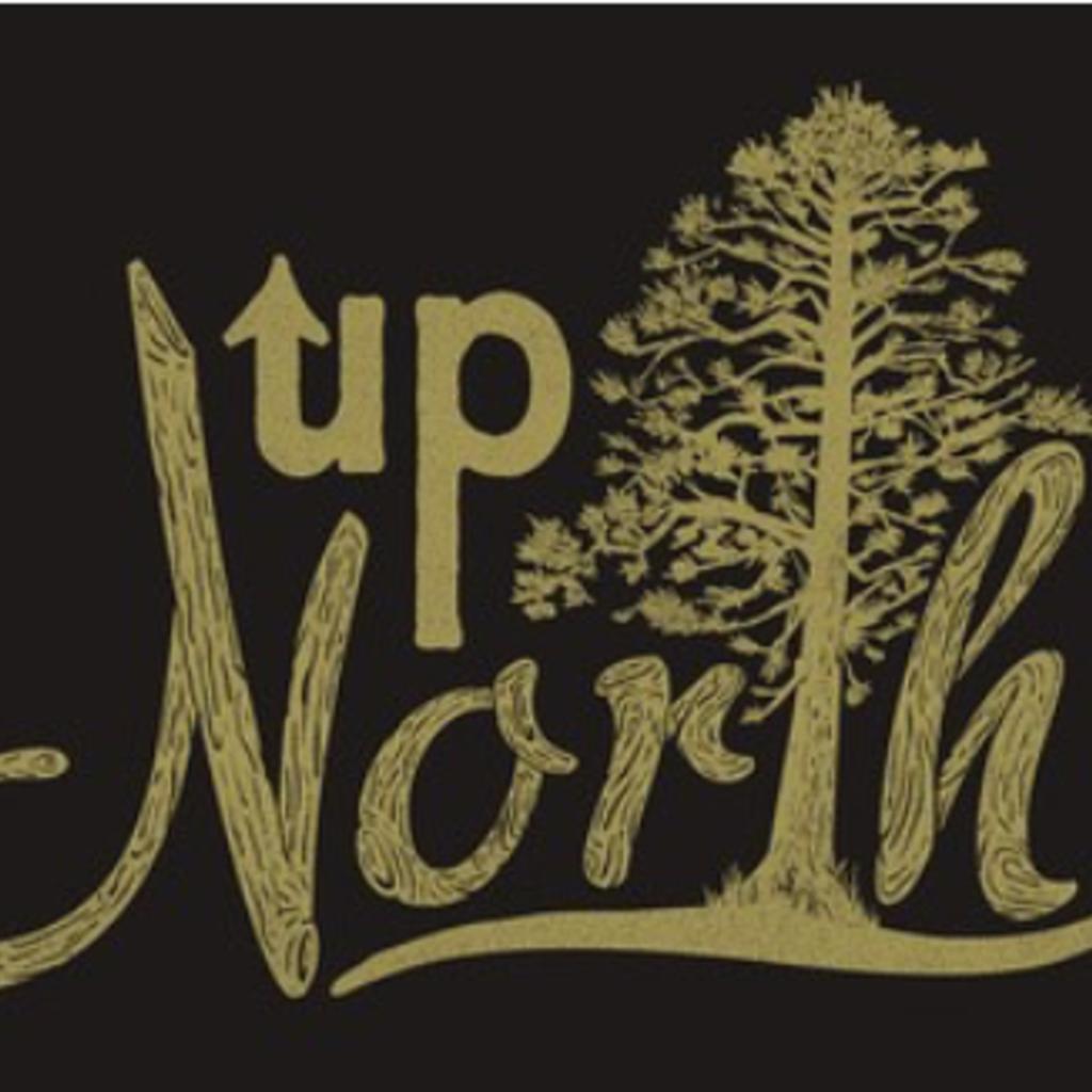 Volume One Up North Wood Grain Print (12x18)