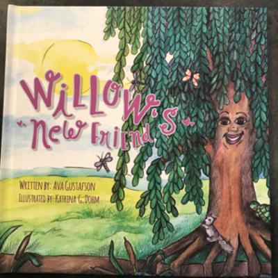 Ava Gustafson Willow's New Friend