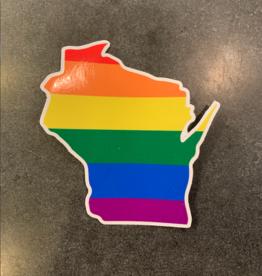 Sticker - WI Pride