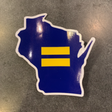 Sticker - WI Equal Human Rights