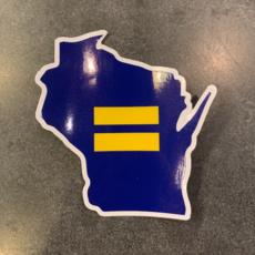 Sticker - WI Human Rights