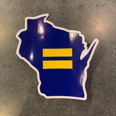 Sticker - WI Human Rights