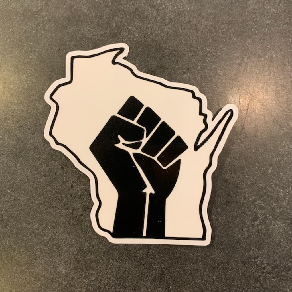 Sticker - Wisconsin Forward Unity Sticker