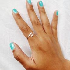Simple Mini Cuff Ring