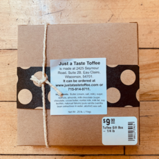 Just A Taste Toffee Gift Box - 1/4 lb