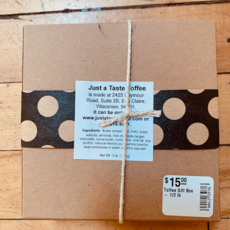Just A Taste Toffee Gift Box - 1/2 lb