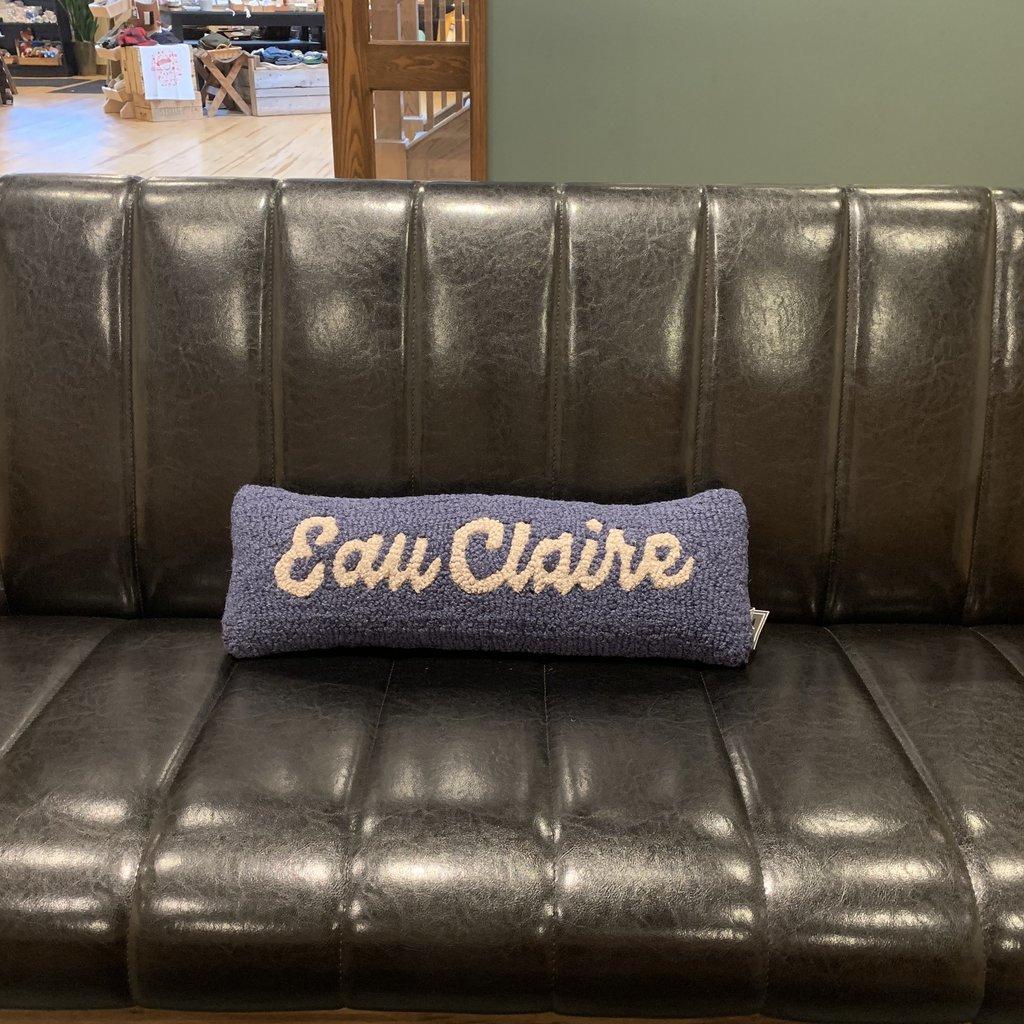 Volume One Eau Claire Cursive Pillow