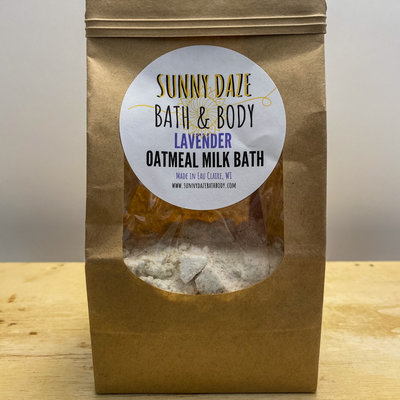 Sunny Daze Bath & Body Lavender Oatmeal Milk Bath