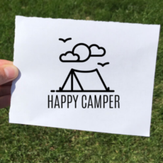 Vinyl Decal - Happy Camper