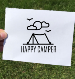 Vinyl Decal - Happy Camper