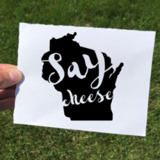 Vinyl Decal - Say Cheese