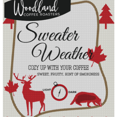 Woodland Coffee - Sweater Weather (16oz)