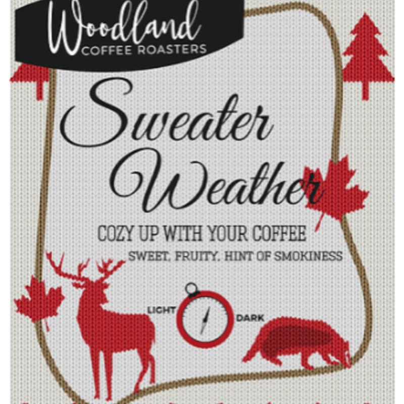 Woodland Coffee - Sweater Weather (16oz)