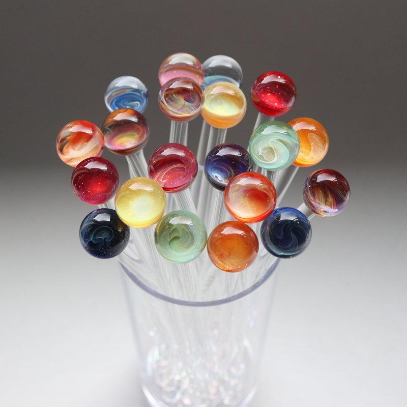 Glass Swizzle Sticks (Assorted)