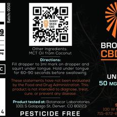 CBD Broad Spectrum Tincture (1500mg)