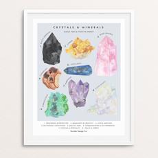 Persika Design Crystals & Minerals Print (11x17)