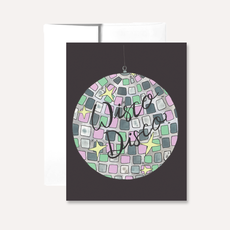 Persika Design Greeting Card - Wisco Disco