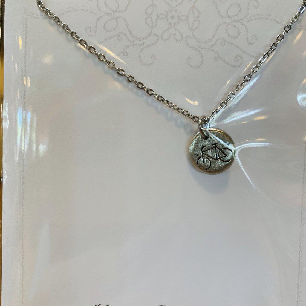 Blue Moon Studios Bicycle Necklace