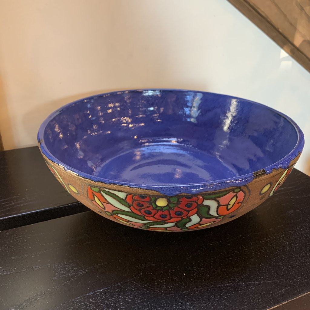 Ann Wrzosek-Manor (Meadowsong Studios) Meadowsong Bowl - Extra Large (Assorted)