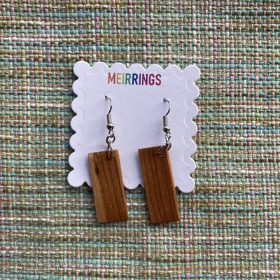 Wood Dangle Earring (assorted)