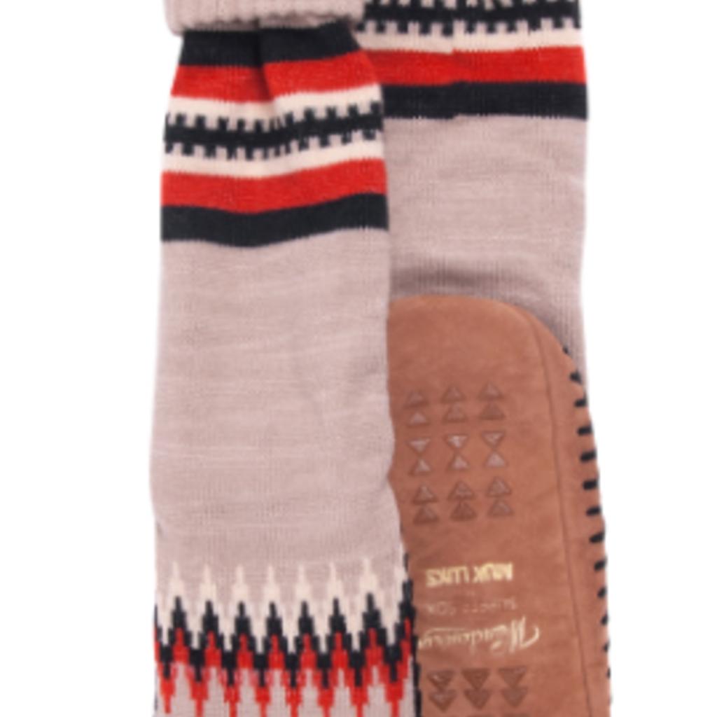 Moccasin Camp Socks - Geo Chevron (Women's)
