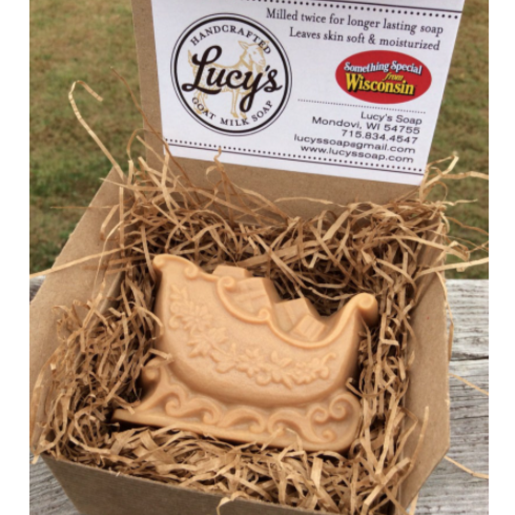Lucy's Goat Milk Soap Lucy's Goat Milk Soap - Sleigh