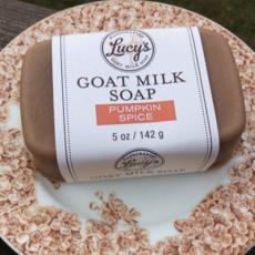 Lucy's Goat Milk Soap Lucy's Goat Milk Soap - Pumpkin Spice Bath Bar