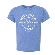Forward Apparel Company Youth Tee - Paddle Wisconsin