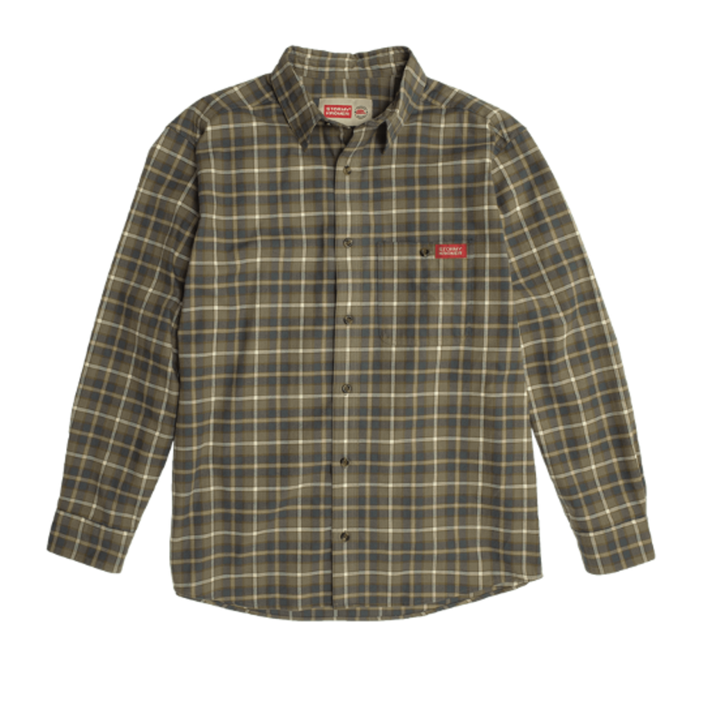 Stormy Kromer The Flannel Shirt - Bungee Cord