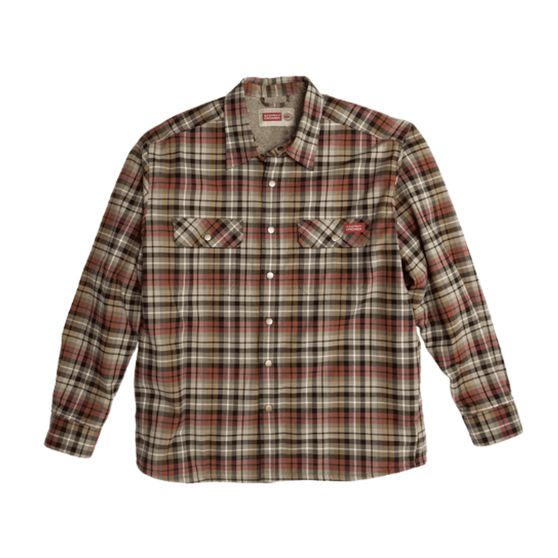 Stormy Kromer The Camp Shirt Jack - Leaf Pile
