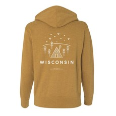 Up North Clothing Up North Wisconsin Full Zip - Wheat