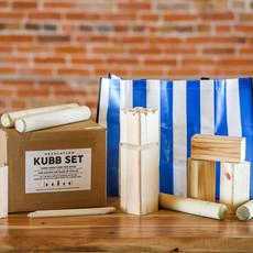 JP's Backyard Games Pine Kubb Set