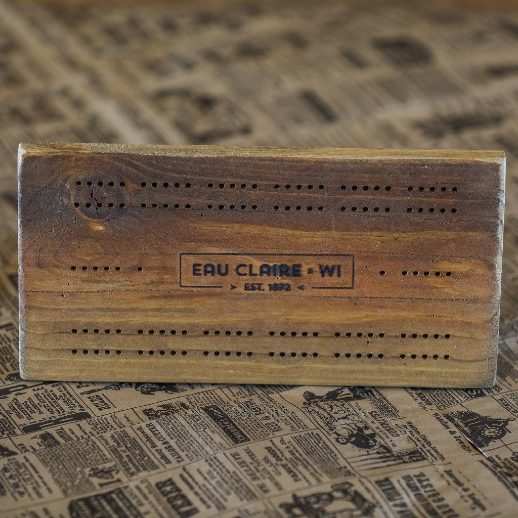 Hagen & Oats Eau Claire, WI Cribbage Board