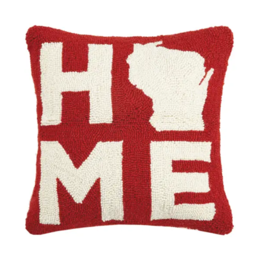 Volume One WI Home Hook Pillow