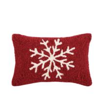 Volume One Snowflake Hook Pillow