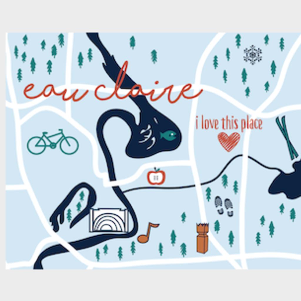 Volume One Eau Claire Icon Print (11x14)
