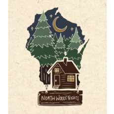 Northwoods Nights Print (8x10)