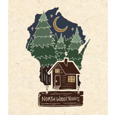 Northwoods Nights Print (8x10)