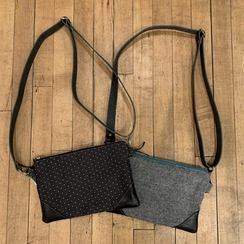 Emmy Lou Bags Leather Corner Cross Body