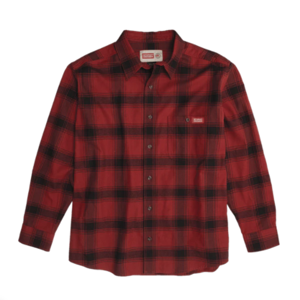 Stormy Kromer The Flannel Shirt - Red/Black